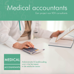 brochure van Medical accountants